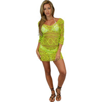 Open Sticht Knitted Tunic