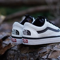 "ku-you The North Face X Vans Old Skool MTE DX ""White"""