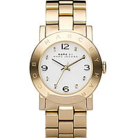 Marc by Marc Jacobs Amy Plated Bracelet Watch - Gold