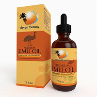 Most Effective Emu Oil on ! Premium Quality, 100% Pure, Safe & Natural with Real Results! Smooth Scars, Promote Hair Growth, Healthy Vibrant Skin, Anti-aging, Muscle & Joint, and More! AEA Certified, Easy, Try Risk Free! 2oz