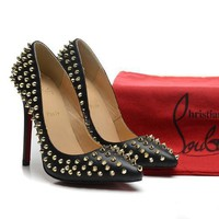 CL Christian Louboutin Fashion Heels Shoes-24