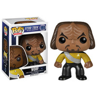 Funko POP! Television - Star Trek The Next Generation - Vinyl Figure - WORF (Pre-Order ships March): BBToyStore.com - Toys, Plush, Trading Cards, Action Figures & Games online retail store shop sale