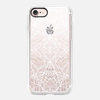 Ab Lace White Transparent iPhone 7 Case by Project M | Casetify