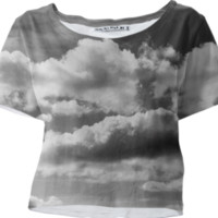 In The Clouds Crop created by PoseManikin | Print All Over Me