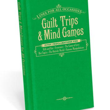 GUILT TRIPS AND MIND GAMES BOOK