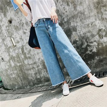 Stretch Rinsed Denim Jeans [125823057945]