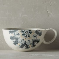 Fandoline Mug by Anthropologie in Neutral Size: Mug Mugs
