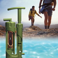 PureEasy Soldier's Hiking Camping Ceramic Water Filter Purifier Outdoor Survival