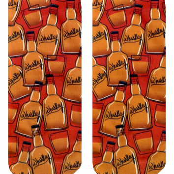 Whiskey Ankle Socks