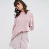 Weekday Fisherman Knit Jumper at asos.com