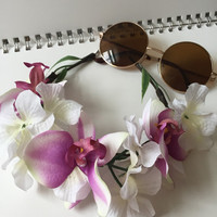 Orchid Flower Crown