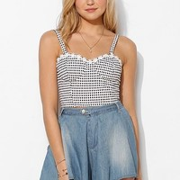 MINKPINK Teenage Dream Bustier Cropped Top - Urban Outfitters
