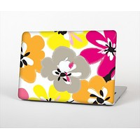 "The Bright Summer Brushed Flowers  Skin Set for the Apple MacBook Pro 15"" with Retina Display"