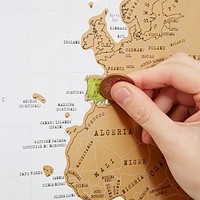 Scratch Map - Urban Outfitters