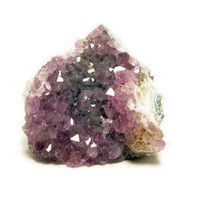Raw Amethyst Crystal Cluster - Paperweight, Decor
