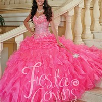 Quinceanera Dresses | House of Wu | Fiesta Gowns 56247 | Quince Dresses | Dama Dresses | GownGarden.com