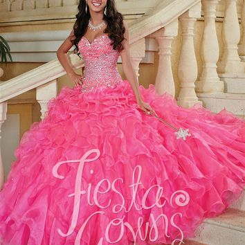 Quinceanera Dresses   House of Wu   Fiesta Gowns 56247   Quince Dresses   Dama Dresses   GownGarden.com