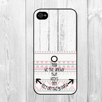 Cool Nautical Anchor Life Quote Pattern Hard Snap on Case Protective Skin Cover For Apple iphone 4 4s, iphone 5 5S, iphone 5C