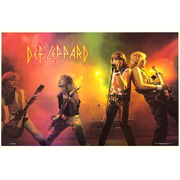 """Poster: Def Leppard - On Stage 1983 (23""""x35"""")"""
