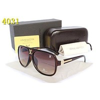 Louis Vuitton LV Woman Men Fashion Summer Sun Shades Eyeglasses Glasses Sunglasses-24