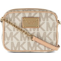 MICHAEL MICHAEL KORS - Jet Set leather shoulder bag | Selfridges.com