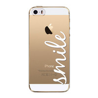 Clear Soft Protector Portuguese Words Love Amor Design Transparent Mobile Phone Back Case Cover For Apple iPhone 5 5s SE