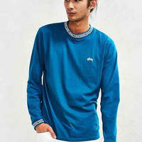 Stussy Spiral Collar Long-Sleeve Tee