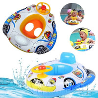 Baby Swimming Accessories Inflatable Pool Ring Child laps Swim Seat Float Boat Water Sport