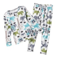 Cuddl Duds Woodland Long Underwear Set - Toddler
