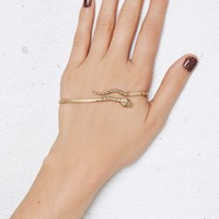 Jenny Bird Cold Blooded Gold-Plated Palm Cuff