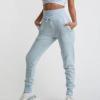 Gymshark High Waisted Joggers - Ice Blue Marl