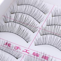 10 Pairs Natural Thick Long False Eyelashes Fake Eye Lashes Voluminous Makeup Cosmetic Make up Tools