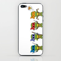 TMNT Chibis iPhone & iPod Skin by Katie Simpson   Society6