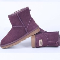 UGG Women male Fashion Wool Snow Boots-41
