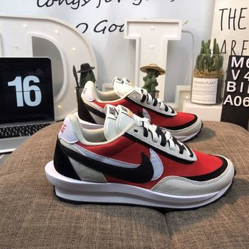 Nike LDV WAFFLE SACAI Men's and women's cheap nike shoes