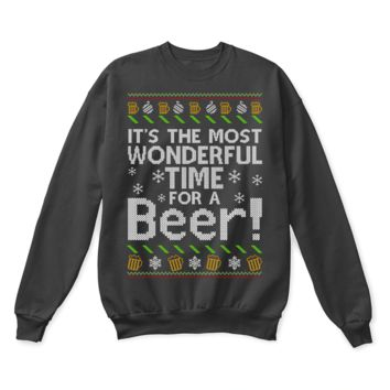 DCCKON7 It's The Most Wonderful Time For A Beer Ugly Christmas Sweater