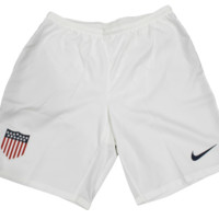 Nike Men's Team USA Original Logo White Soccer Short