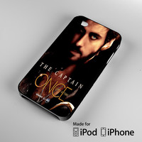 Once Upon A Time Captain Hook cover iPhone 4 4S 5 5S 5C 6, iPod Touch 4 5 Cases