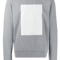 Grey Blank Canvas Sweatshirt by Maison Margiela