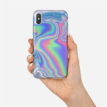Hologram Holographic Style iPhone X Case