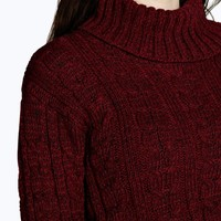 Lola Cable Knit Crop Jumper