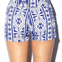 Out West High-Waisted Shorts
