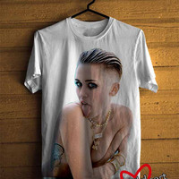 Men T-shirt : Miley Cyrus Rolling Stone Cover