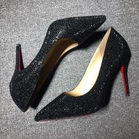 Christian Louboutin Cl Pumps High Heels Reference #02bk63 - Best Deal Online