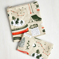 Rustic Blazing a Trail Mix Snack Bag Set by ModCloth