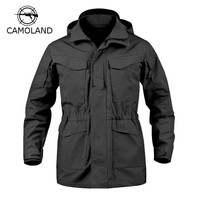 Cool 4 Colors Tactical Jacket Men M65 Coat Male Parka Winter Windbreaker Military Clothes Autumn  Army Field Jacket Male ClothingAT_93_12
