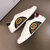 GUCCI 2020s lovers' small white shoes