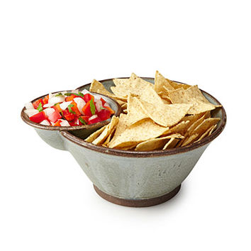 Chip and Dip Serving Duo   chip and dip bowl