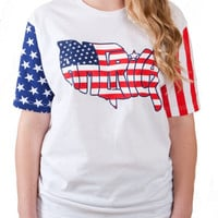 Ladies America T-Shirt