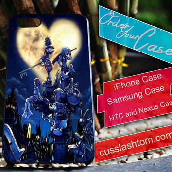Exclusive The Kingdom Hearts iPhone for 4 5 5c 6 Plus Case, Samsung Galaxy for S3 S4 S5 Note 3 4 Case, iPod for 4 5 Case, HtC One M7 M8